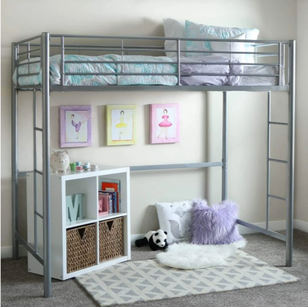 Loft Bed What To Put Under A, Can You Turn A Regular Bunk Bed Into Loft