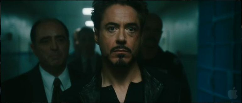 robert downey jr in Irom Man 2 - Example of complementary colors