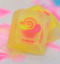 Amidst The Clouds - Cloud Cap - Neon Valentine - Yellow