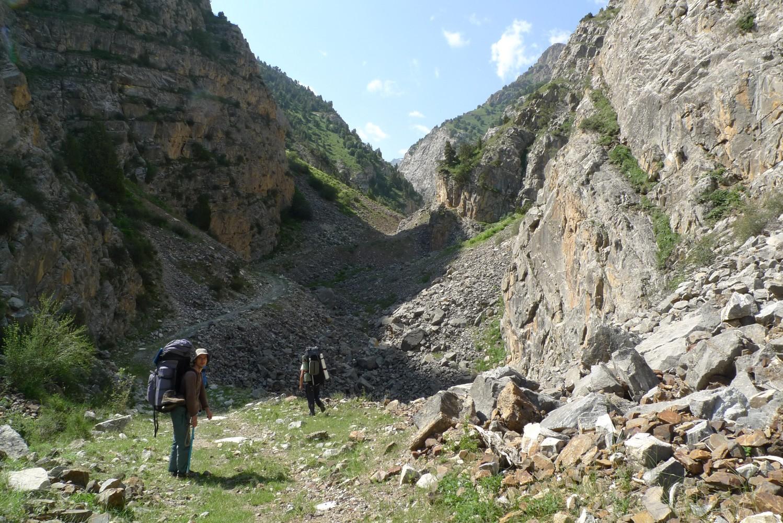 Отчет о горном походе 2 к.с. по Алаю