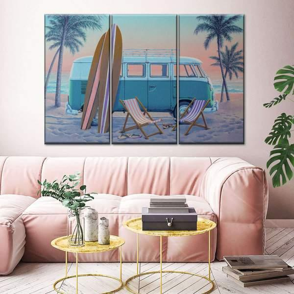 Just the Two of Us Multi Panel Canvas Wall Art