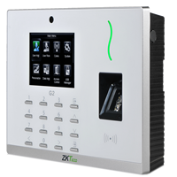 ZK G2- CTRL DE ACCESO SIMPLE Y ASISTENCIA A COLOR/ 20000 HUELLAS/ 100000 REGISTROS/ TCPIP/ USB