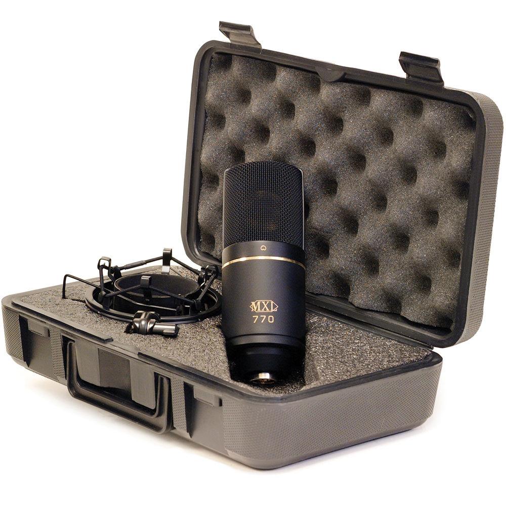 5 ไมโครโฟน เสียงดีจาก MXL 5