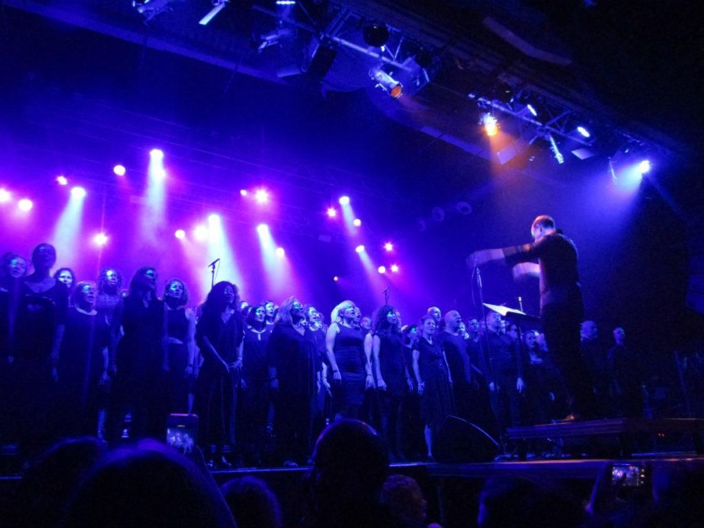 Barcelona English Choir concert at Razzmatazz enjoy your passions