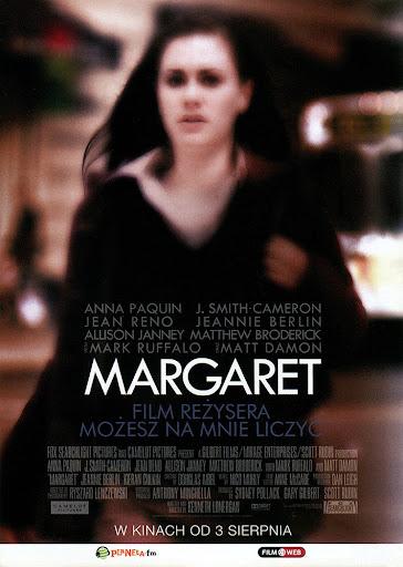 Przód ulotki filmu 'Margaret'