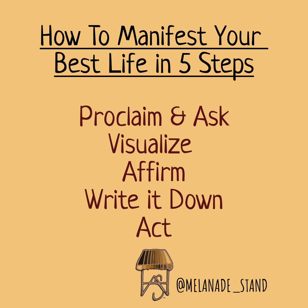 How To Manifest The Life Of Your Dreams In 5 Steps Xonecole Women S Interest Love Wellness Beauty