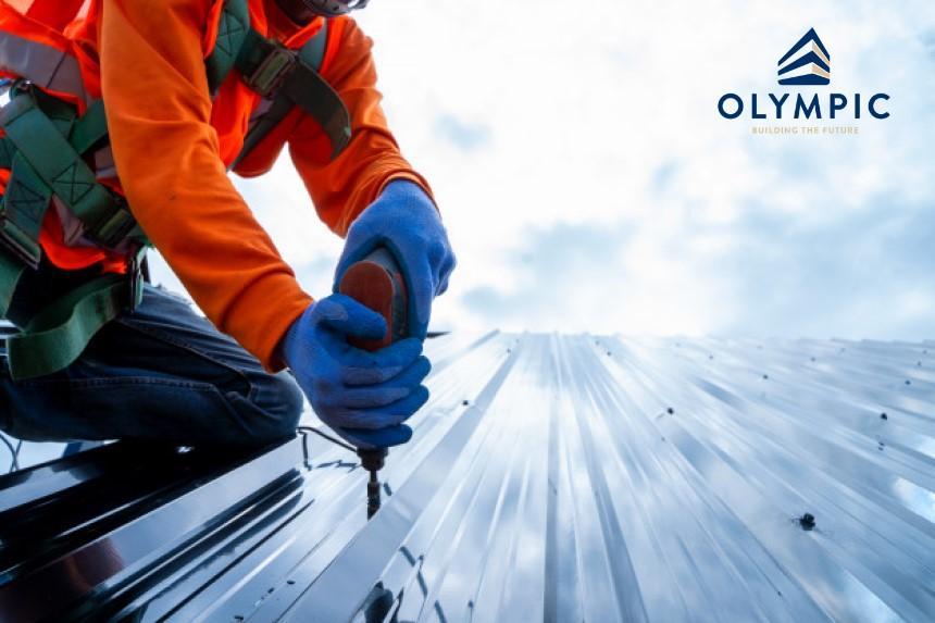 Tôn Olympic bảo vệ công trình của bạn trước mọi tác động của thời tiết