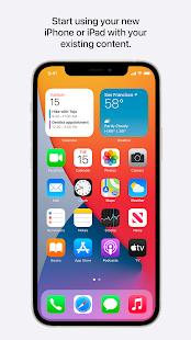Приложение Move to iOS для переноса данных