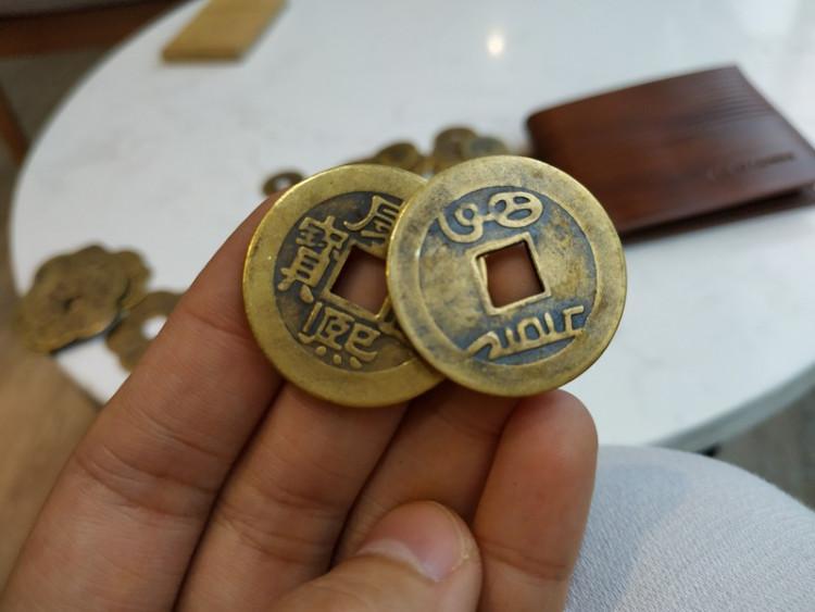 Bộ 5 đồng xu cổ may mắn, tiền lì xì phong thủy tài lộc - Tiền hoa mai, đồng  xu, tiền cổ Thương hiệu OEM | SieuThiChoLon.com