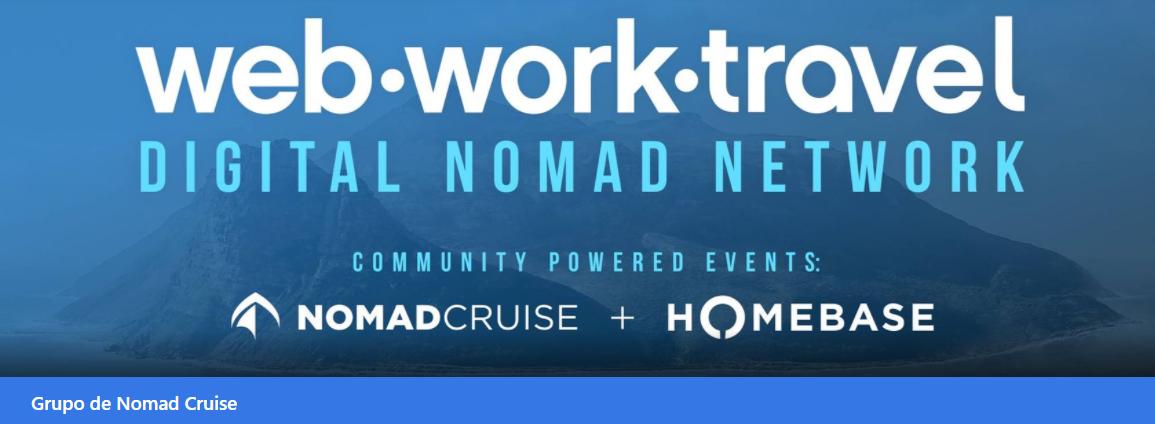 Comunidades de nómadas digitales Web Work Travel