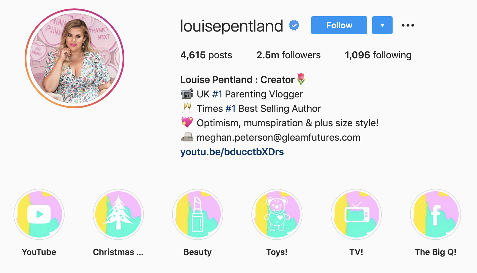 Louise Pentland | Parenting Influencer and Content Creator