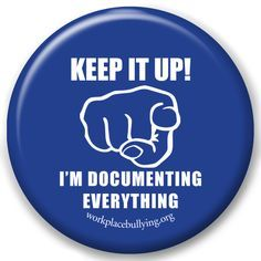 Documenting is critical!