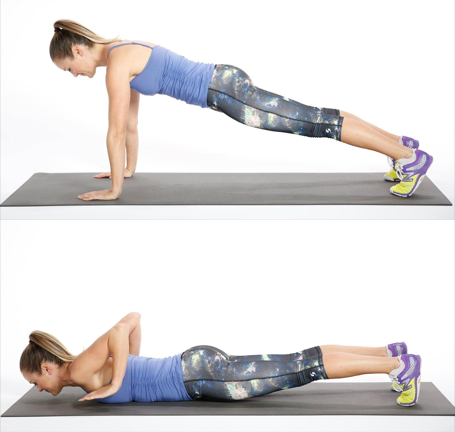 Description: Circuit Three: Negative Push-Up | Tone and Strengthen Your Entire ...