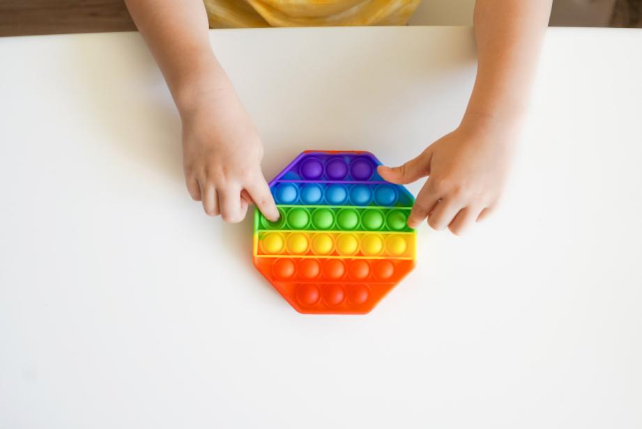ensine matemática com fidget toys, POP IT