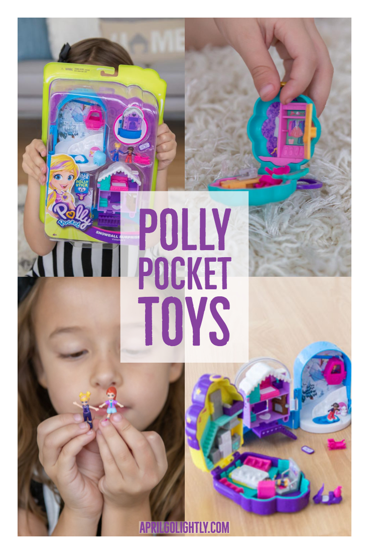 New Polly Pocket Toys