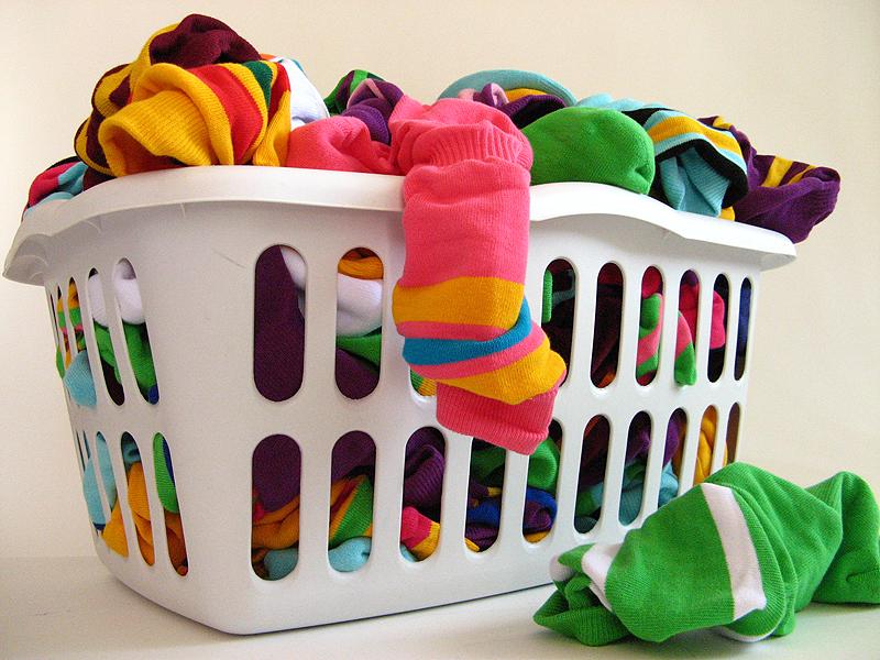 giặt quần áo cho trẻ sơ sinh