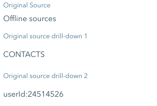 Offline sources source & drill-downs