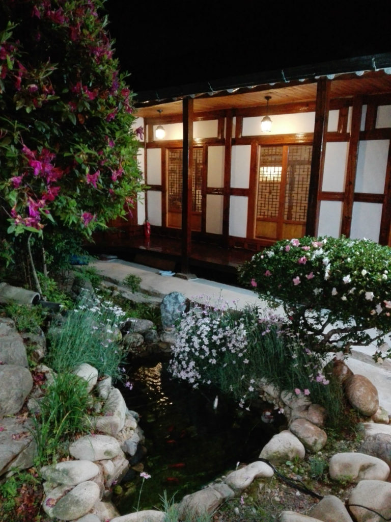 Traditional Tea house Haegwon Cafe Jeonju Hanok Village Korea