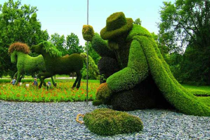 Cây xanh có tác dụng bảo vệ môi trường hiệu quả