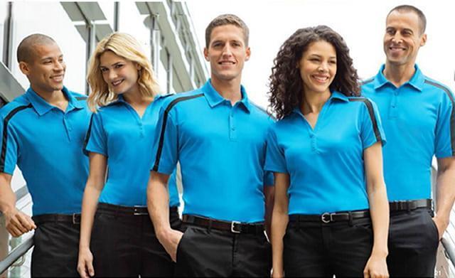 May đồng phục áo thun công ty đẹp được lựa chọn nhiều