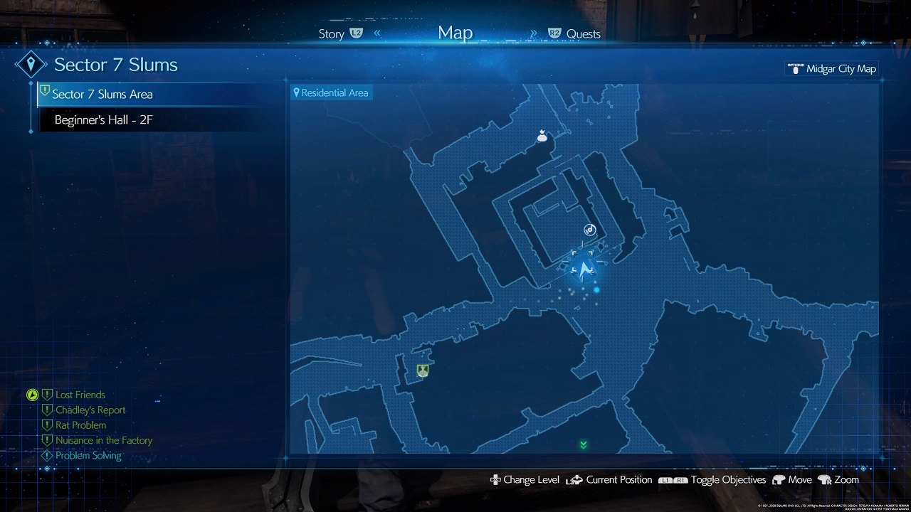 Final Fantasy VII Remake Lost Friends Cat 2 Location