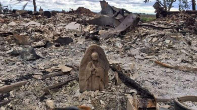 Những tượng Mẹ Maria không vượt qua Siêu bão Harvey