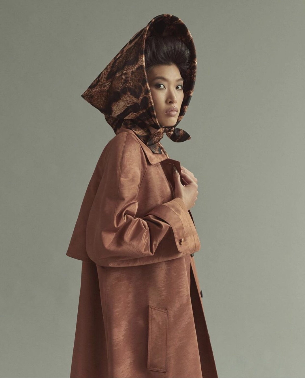 Phương Oanh Next Top xuất hiện trên trang chủ của thương hiệu xa xỉ Gucci