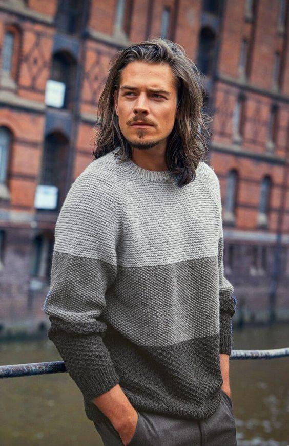 classic men's sweater