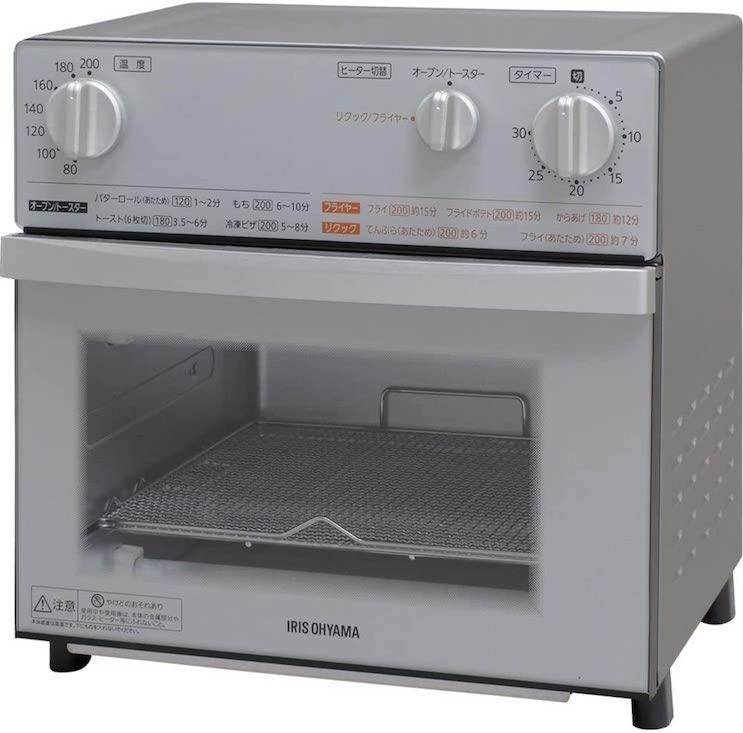 アイリスオーヤマ オーブントースター トースト 4枚 FVX-D3B