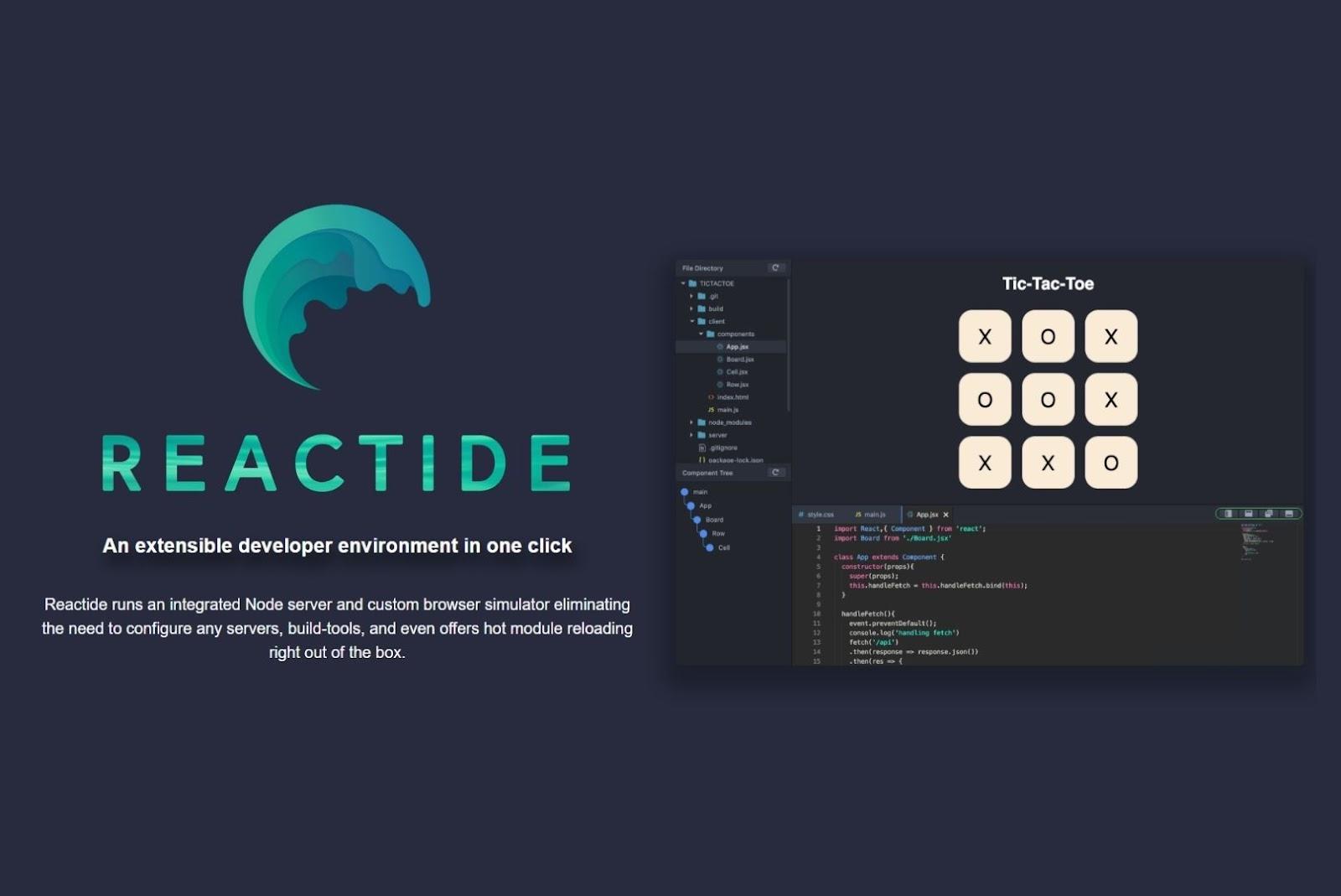 reactide developer developer tool