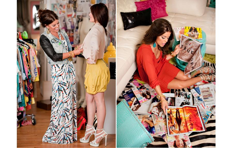 Подбор одежды стилистом