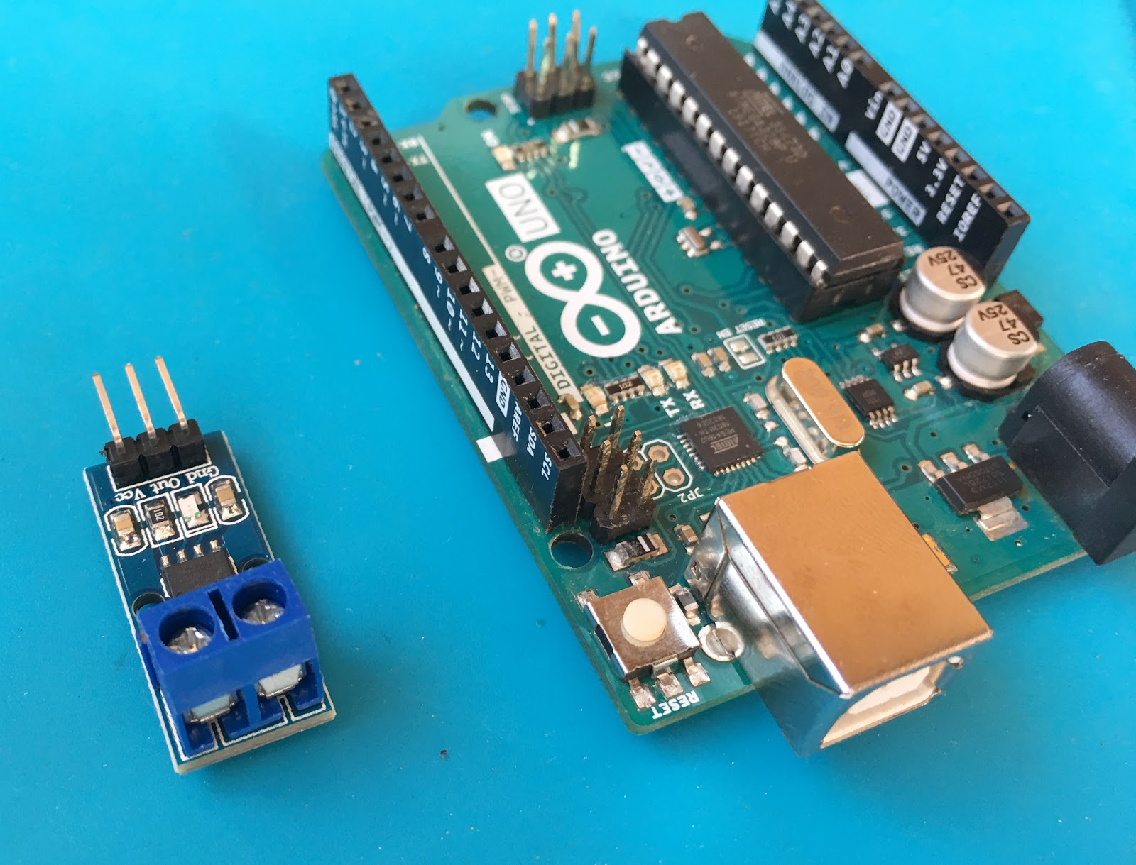 arduino current sensor tutorial