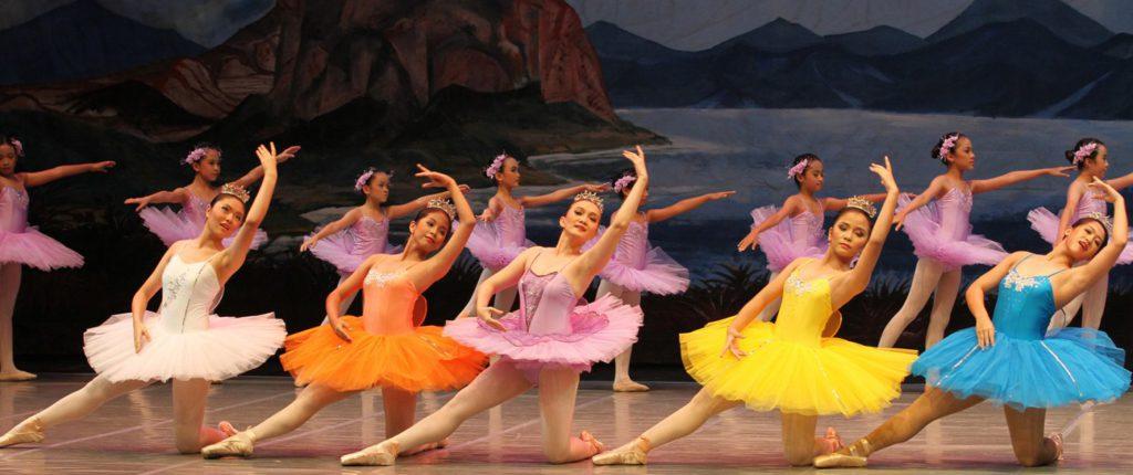 ballerina at Ade Rayanti School of Ballet