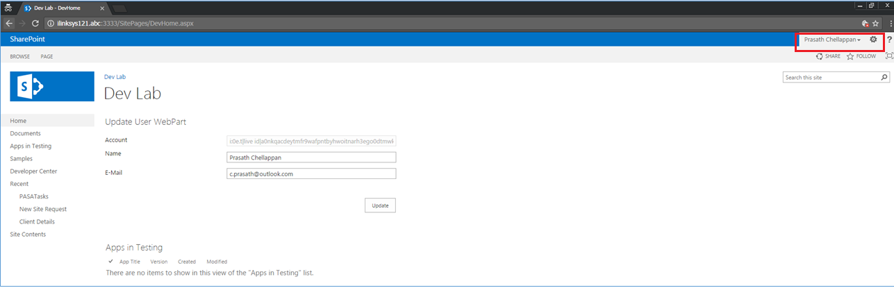 Get Windows Live ID user information using Live Connect SDK