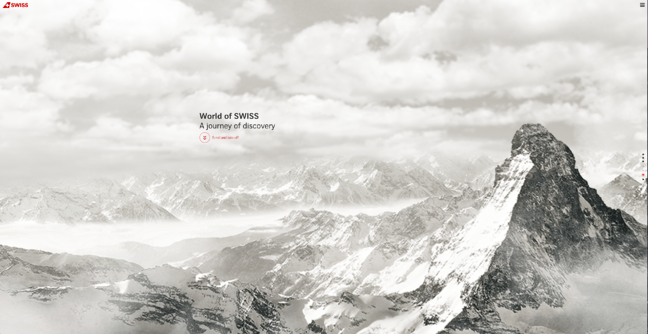 World of SWISS best website design award winner 2015