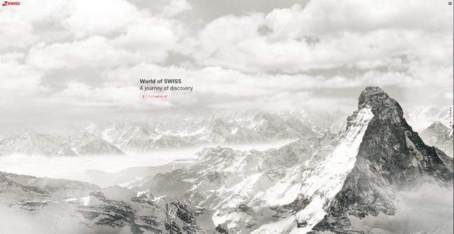 World of SWISS best website design award winner 2015