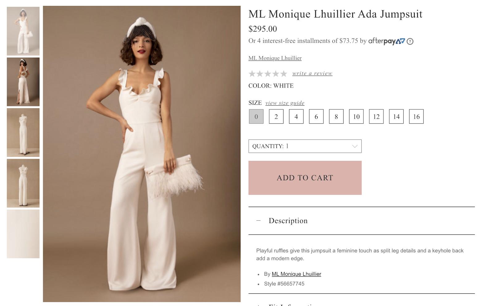 Wedding Jumpsuits, wedding dresses