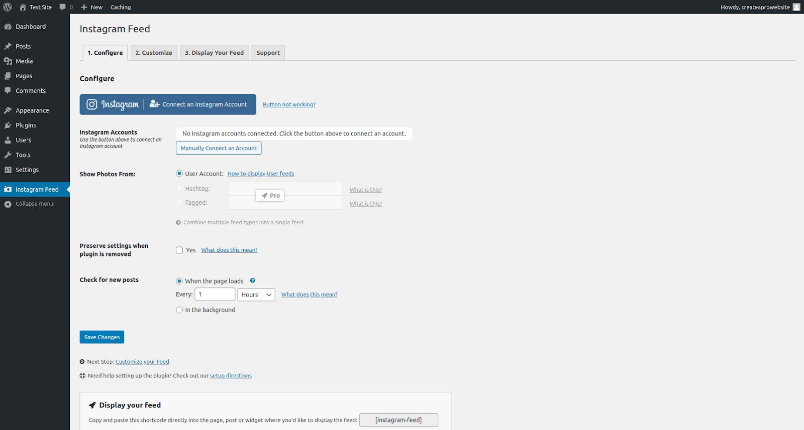 smash balloon wordpress social media plugin features