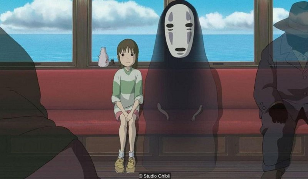 Spirited Away (2001) - an Oscar wiining movie from studio ghibli movie collection