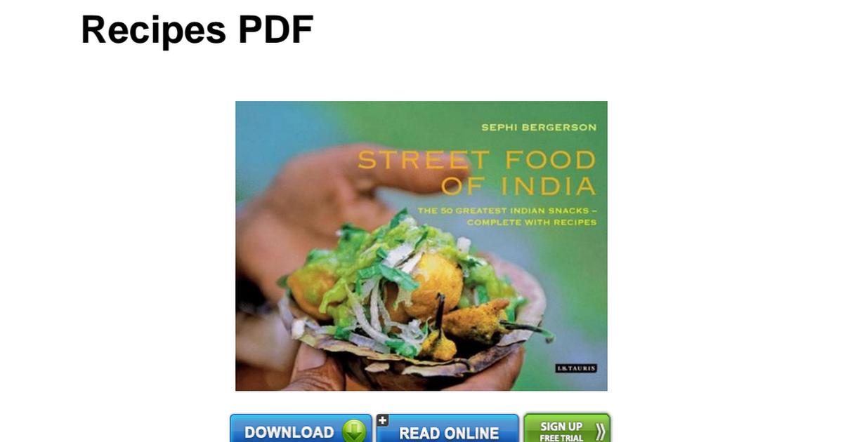 184885420x Street Food India Greatest Completepdf Google