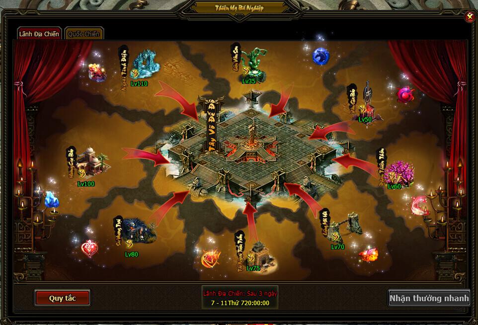 LÃNH ĐỊA CHIẾN | Webgame Khoa Huyễn Cửu Tinh Vô Song | 360game.vn