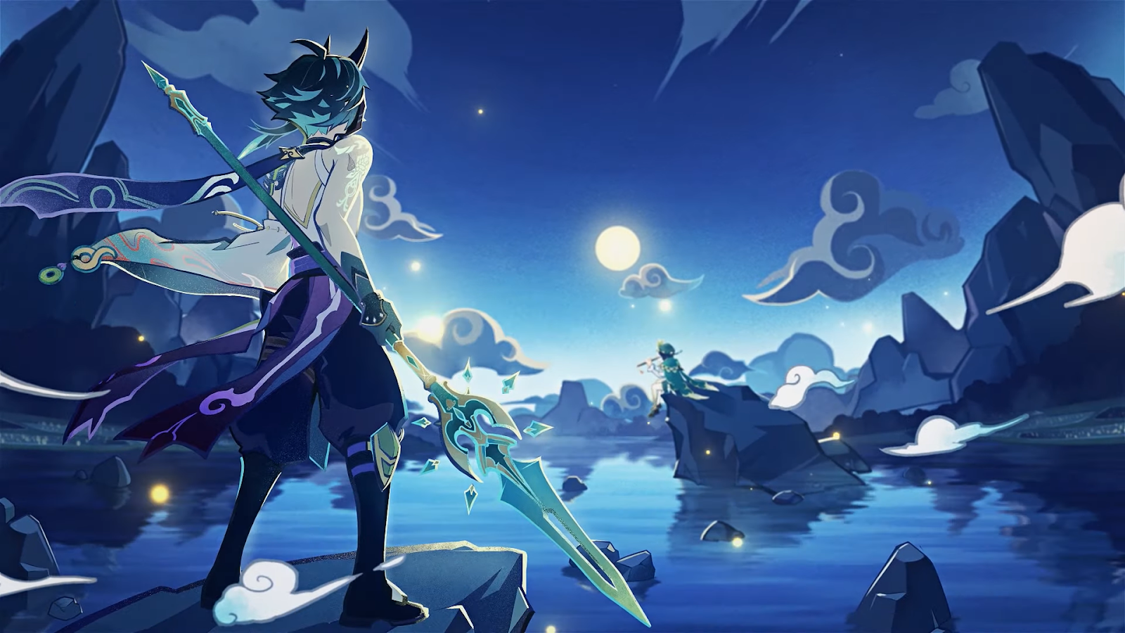 Genshin Impact: Legend of the Five Guardians of the Night 2