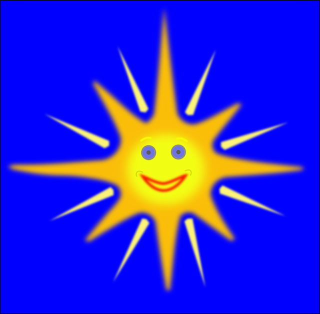 Cartoon, Smiley, Sunshine,