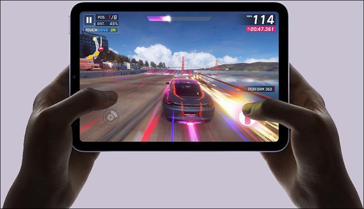 Các game hạng nặng hiện nay có lẽ cũng sẽ không làm khó được iPad mini 6