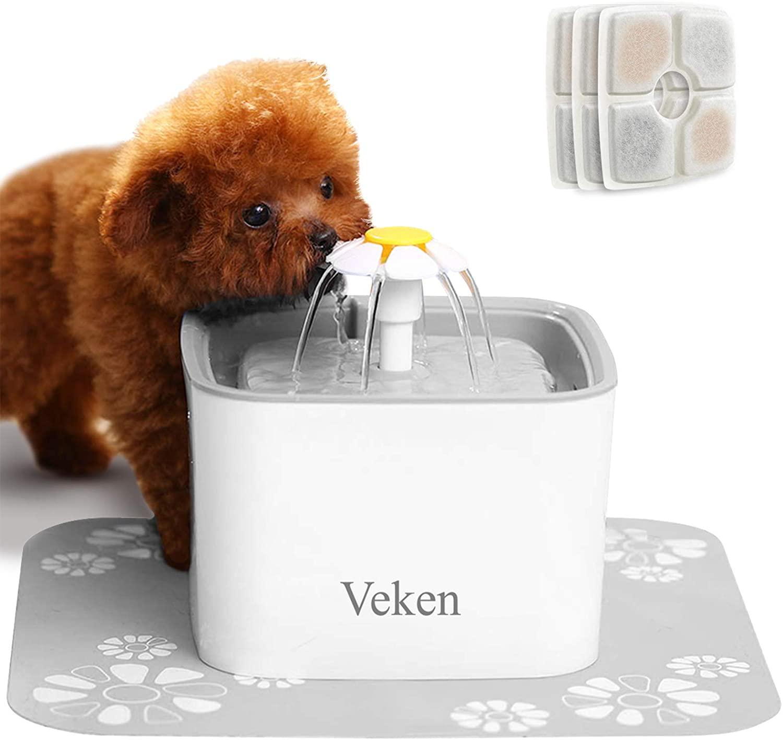 pet tech filtered water bowl