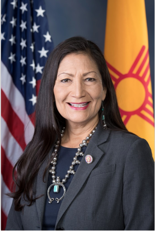 headshot of Deb Haaland