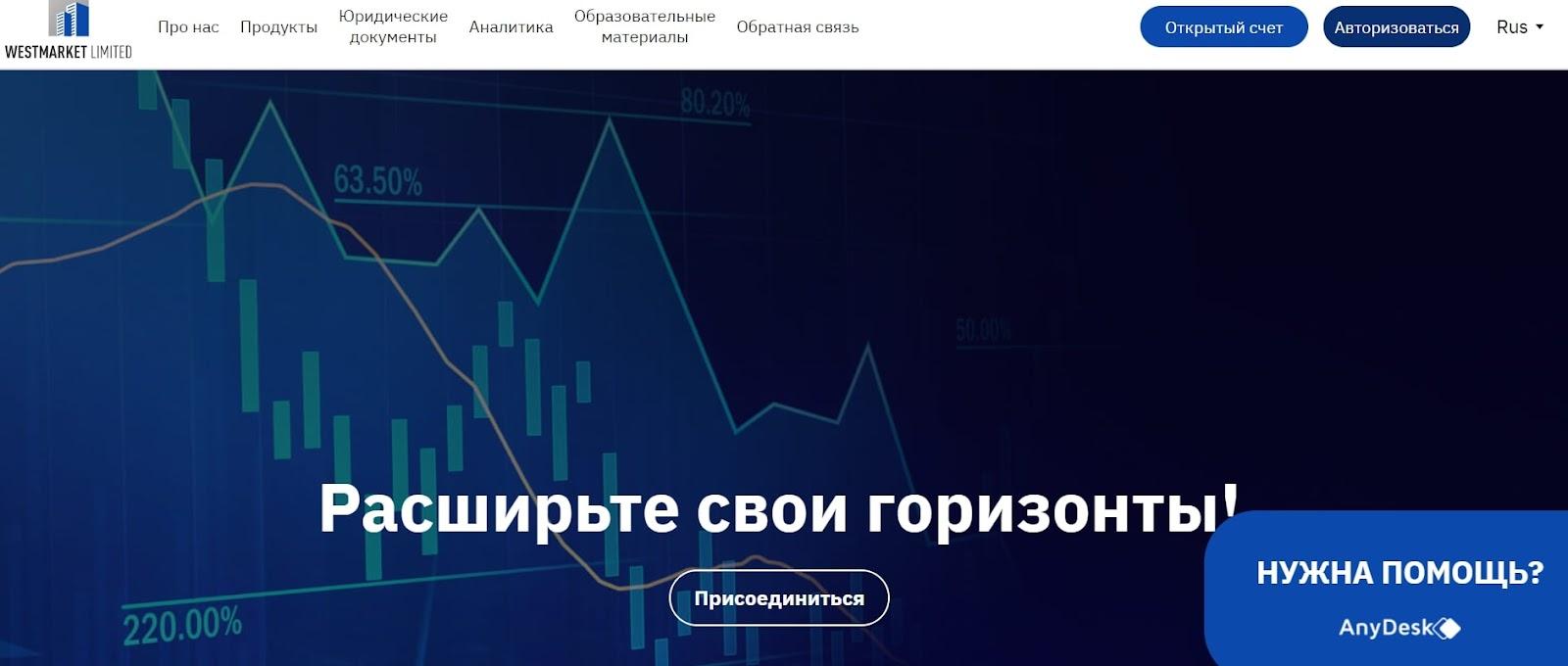 Отзывы клиентов и обзор торговой платформы Westmarket Limited