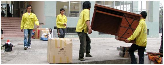 Dịch vụ chuyển nhà trọn gói tại Mỹ Đình