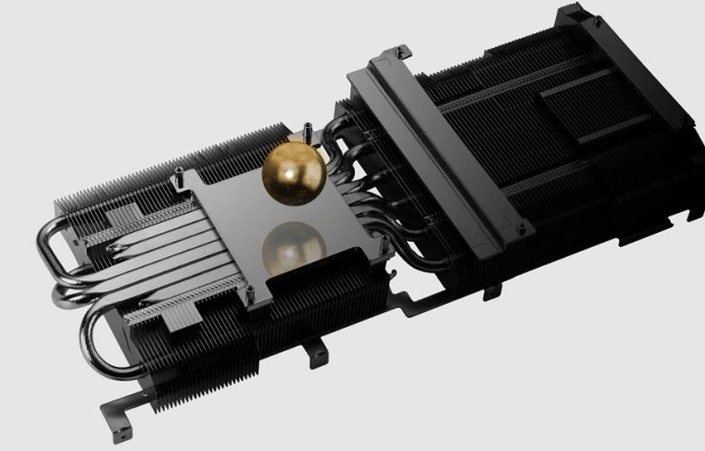 Card màn hình Asus Tuf Geforce RTX 3080 10GB GDDR6X (TUF-RTX3080-10G-GAMING) | Bề mặt tiếp xúc hoàn thiện đỉnh cao
