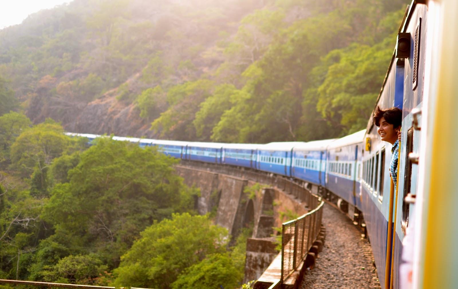 travel, solo, adventure, train